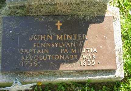 MINTER, JOHN - Delaware County, Ohio   JOHN MINTER - Ohio Gravestone Photos