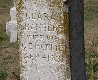 CHAMBERS MORRIS, CLARA - Delaware County, Ohio | CLARA CHAMBERS MORRIS - Ohio Gravestone Photos