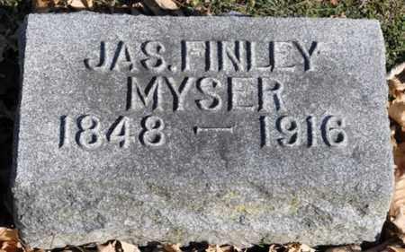 MYSER, JAMES FINLEY - Delaware County, Ohio | JAMES FINLEY MYSER - Ohio Gravestone Photos