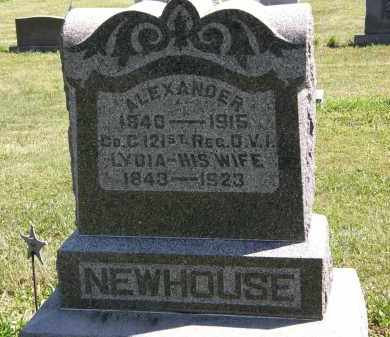 NEWHOUSE, ALEXANDER - Delaware County, Ohio | ALEXANDER NEWHOUSE - Ohio Gravestone Photos