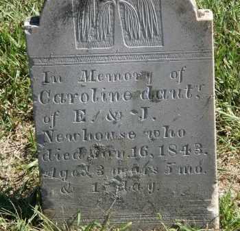 NEWHOUSE, J. - Delaware County, Ohio | J. NEWHOUSE - Ohio Gravestone Photos