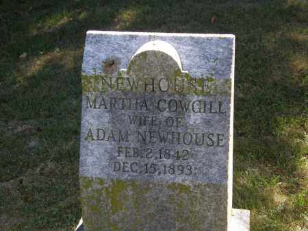 COWGILL NEWHOUSE, MARTHA - Delaware County, Ohio | MARTHA COWGILL NEWHOUSE - Ohio Gravestone Photos