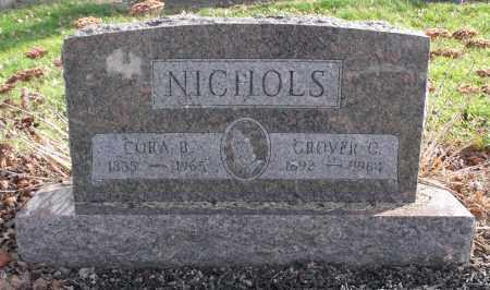 NICHOLS, CORA B. - Delaware County, Ohio   CORA B. NICHOLS - Ohio Gravestone Photos