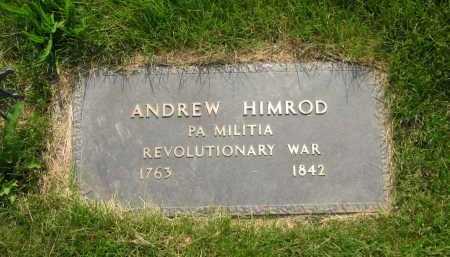 HIMROD, ANDREW - Delaware County, Ohio | ANDREW HIMROD - Ohio Gravestone Photos
