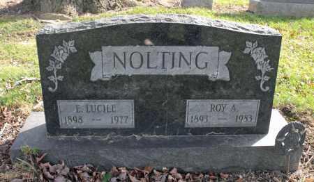 NOLTING, ROY A. - Delaware County, Ohio | ROY A. NOLTING - Ohio Gravestone Photos