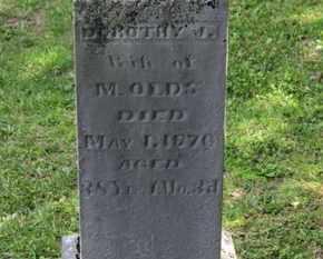 OLDS, M. - Delaware County, Ohio | M. OLDS - Ohio Gravestone Photos