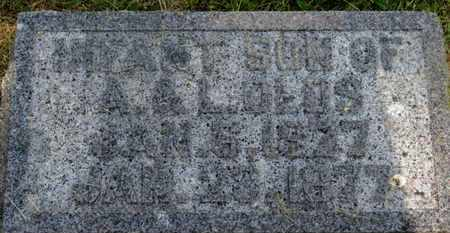 OLDS, A. - Delaware County, Ohio | A. OLDS - Ohio Gravestone Photos