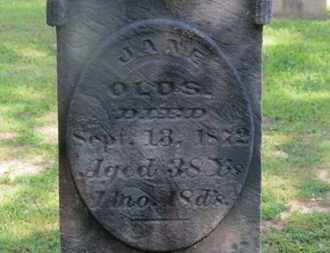 OLDS, JANE - Delaware County, Ohio | JANE OLDS - Ohio Gravestone Photos