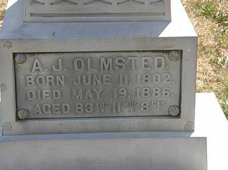OLMSTED, A.J. - Delaware County, Ohio | A.J. OLMSTED - Ohio Gravestone Photos