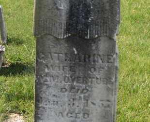 OVERTURF, W.M. - Delaware County, Ohio | W.M. OVERTURF - Ohio Gravestone Photos