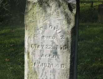 OWEN, F.M. - Delaware County, Ohio | F.M. OWEN - Ohio Gravestone Photos