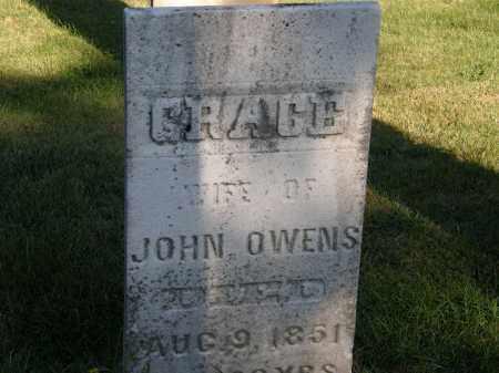 OWENS, JOHN - Delaware County, Ohio | JOHN OWENS - Ohio Gravestone Photos