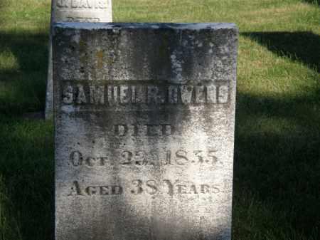 OWENS, SAMUEL R. - Delaware County, Ohio | SAMUEL R. OWENS - Ohio Gravestone Photos
