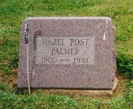 PALMER, HAZEL - Delaware County, Ohio   HAZEL PALMER - Ohio Gravestone Photos