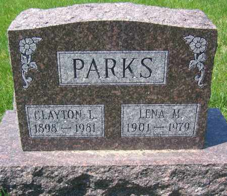 PARKS, CLAYTON L. - Delaware County, Ohio   CLAYTON L. PARKS - Ohio Gravestone Photos