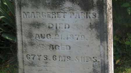 PARKS, MARGERET - Delaware County, Ohio | MARGERET PARKS - Ohio Gravestone Photos