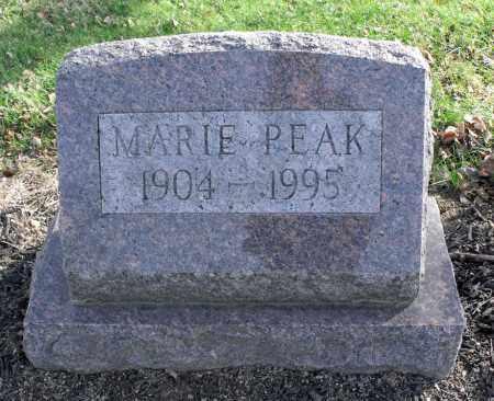PEAK, MARIE A, - Delaware County, Ohio | MARIE A, PEAK - Ohio Gravestone Photos