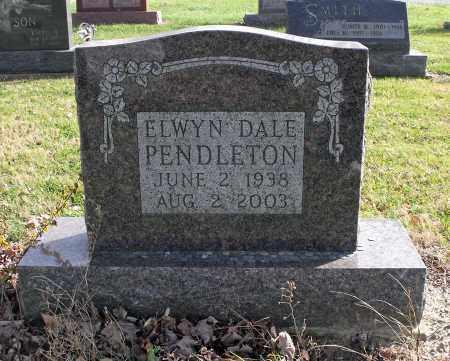 PENDLETON, ELWYN DALE - Delaware County, Ohio | ELWYN DALE PENDLETON - Ohio Gravestone Photos