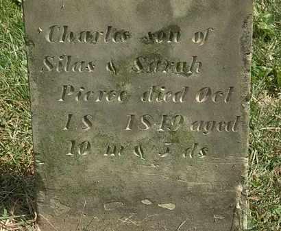 PIERCE, CHARLES - Delaware County, Ohio   CHARLES PIERCE - Ohio Gravestone Photos