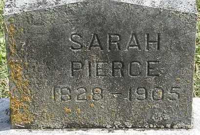 PIERCE, SARAH - Delaware County, Ohio | SARAH PIERCE - Ohio Gravestone Photos