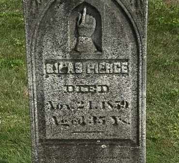 PIERCE, SILAS - Delaware County, Ohio   SILAS PIERCE - Ohio Gravestone Photos