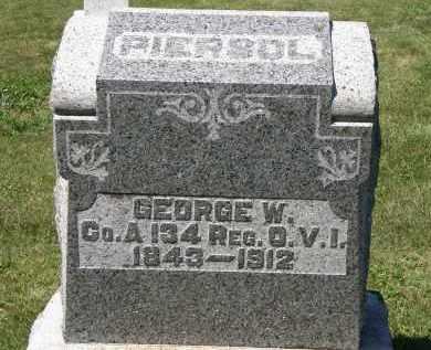 PIERSOL, GEORGE W. - Delaware County, Ohio | GEORGE W. PIERSOL - Ohio Gravestone Photos