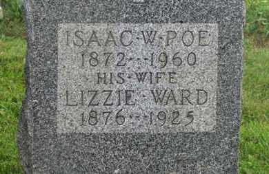 POE, LIZZIE - Delaware County, Ohio | LIZZIE POE - Ohio Gravestone Photos