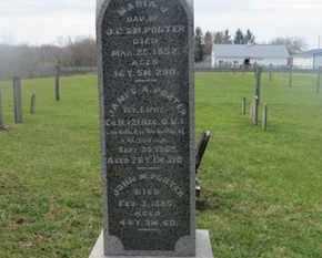 PORTER, JAMES A. - Delaware County, Ohio | JAMES A. PORTER - Ohio Gravestone Photos