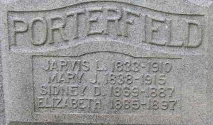 PORTERFELD, DISNEY D. - Delaware County, Ohio | DISNEY D. PORTERFELD - Ohio Gravestone Photos