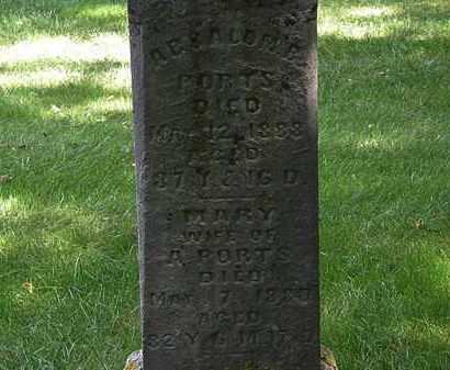 PORTS, ABSALOM B. - Delaware County, Ohio | ABSALOM B. PORTS - Ohio Gravestone Photos