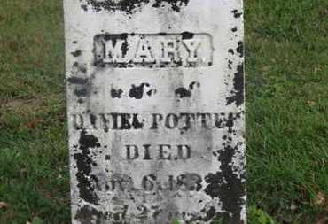 POTTER, DANIEL - Delaware County, Ohio | DANIEL POTTER - Ohio Gravestone Photos