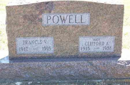 SHANK POWELL, FRANCES V - Delaware County, Ohio | FRANCES V SHANK POWELL - Ohio Gravestone Photos