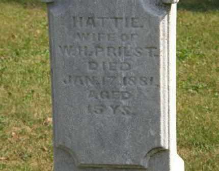 PRIEST, HATTIE - Delaware County, Ohio | HATTIE PRIEST - Ohio Gravestone Photos