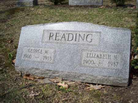 READING, GEORGE  W. - Delaware County, Ohio | GEORGE  W. READING - Ohio Gravestone Photos