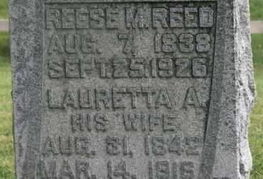 REED, LAURETTA - Delaware County, Ohio | LAURETTA REED - Ohio Gravestone Photos