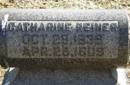 REINER, CATHARINE - Delaware County, Ohio   CATHARINE REINER - Ohio Gravestone Photos