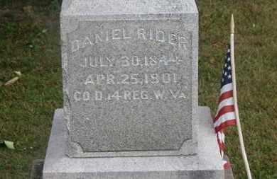 RIDER, DANIEL - Delaware County, Ohio   DANIEL RIDER - Ohio Gravestone Photos