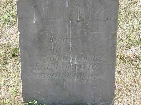 ROATH, ROATH - Delaware County, Ohio   ROATH ROATH - Ohio Gravestone Photos