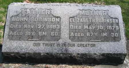 ROBINSON, JOHN - Delaware County, Ohio | JOHN ROBINSON - Ohio Gravestone Photos