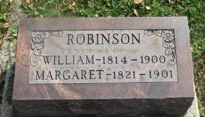ROBINSON, MARGARET - Delaware County, Ohio | MARGARET ROBINSON - Ohio Gravestone Photos