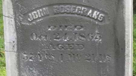 ROSECRANS, JOHN - Delaware County, Ohio | JOHN ROSECRANS - Ohio Gravestone Photos
