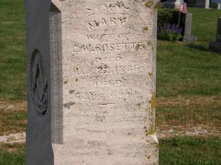 ROSETTE, C.W. - Delaware County, Ohio | C.W. ROSETTE - Ohio Gravestone Photos