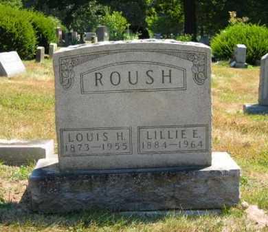 VIGAR ROUSH, LILLIE ELIZABETH - Delaware County, Ohio | LILLIE ELIZABETH VIGAR ROUSH - Ohio Gravestone Photos