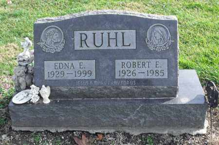 RUHL, ROBERT E. - Delaware County, Ohio | ROBERT E. RUHL - Ohio Gravestone Photos