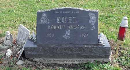 RUHL, ROBERT EDWARD - Delaware County, Ohio | ROBERT EDWARD RUHL - Ohio Gravestone Photos