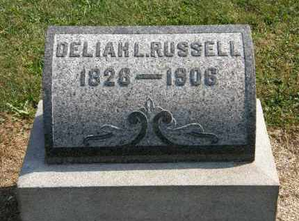 RUSSELL, DELIAH K. - Delaware County, Ohio | DELIAH K. RUSSELL - Ohio Gravestone Photos