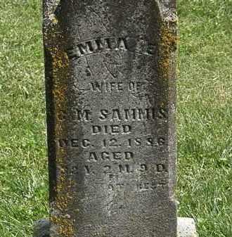 SAMMIS, C.M. - Delaware County, Ohio | C.M. SAMMIS - Ohio Gravestone Photos