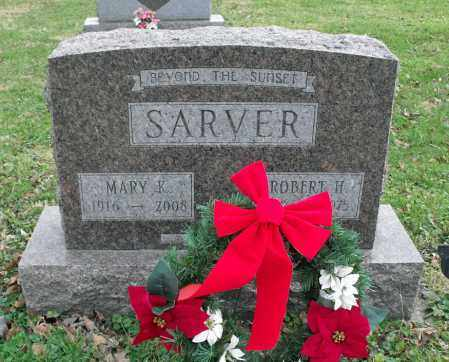SARVER, MARY KATHRYN - Delaware County, Ohio | MARY KATHRYN SARVER - Ohio Gravestone Photos