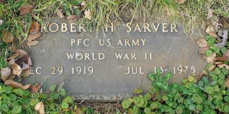 SARVER, ROBERT H. - Delaware County, Ohio   ROBERT H. SARVER - Ohio Gravestone Photos