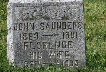 SAUNDERS, JOHN - Delaware County, Ohio | JOHN SAUNDERS - Ohio Gravestone Photos
